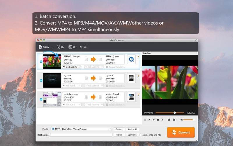 Screenshot #2 for MP4 Converter - MP4 to MP3