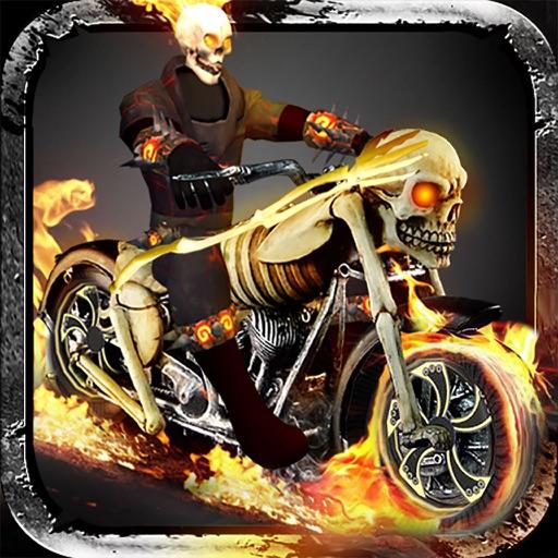 Ghost Bike Rider Extreme Daredevil Chopper Riding Cruising Game