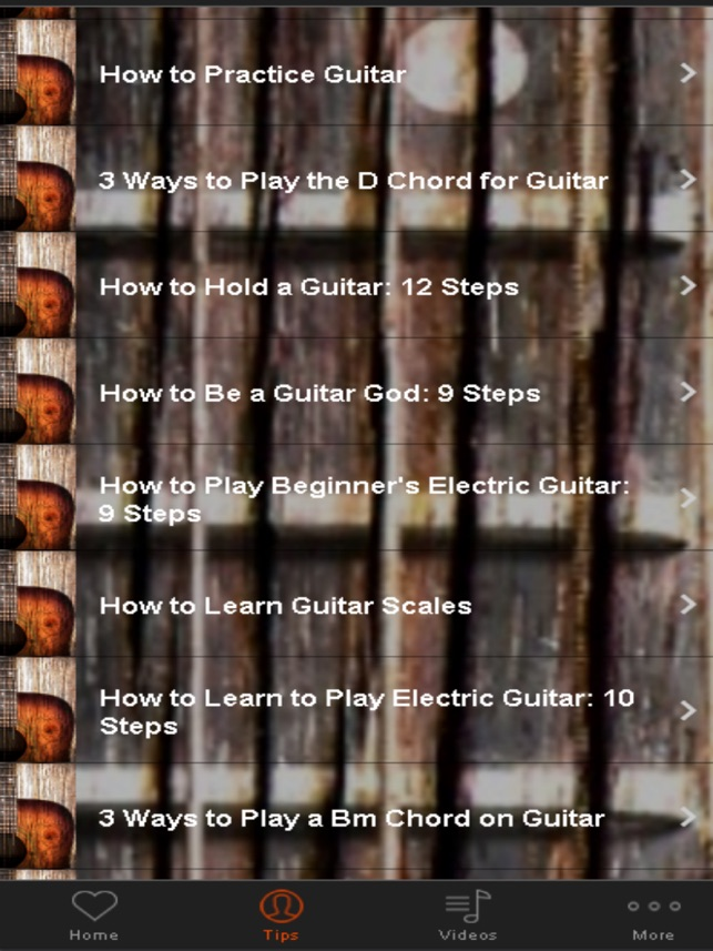 Guitar Lesson Learn Guitar For Beginners On The App Store