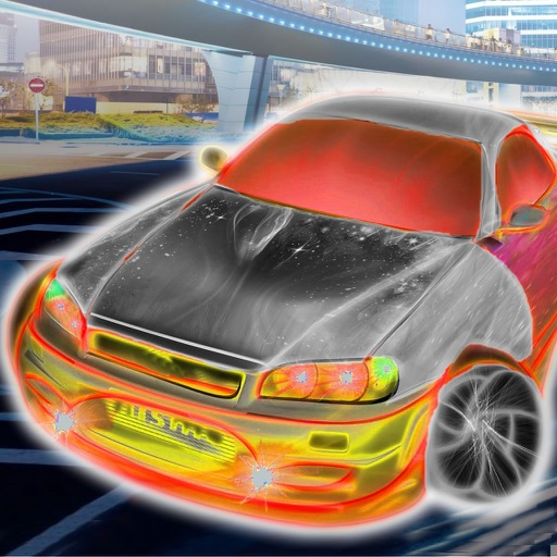 A Neon City Racing - Traffic Car Driving