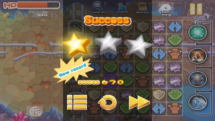 Zombie Defeat vs Mine Gem Defense screenshot-4