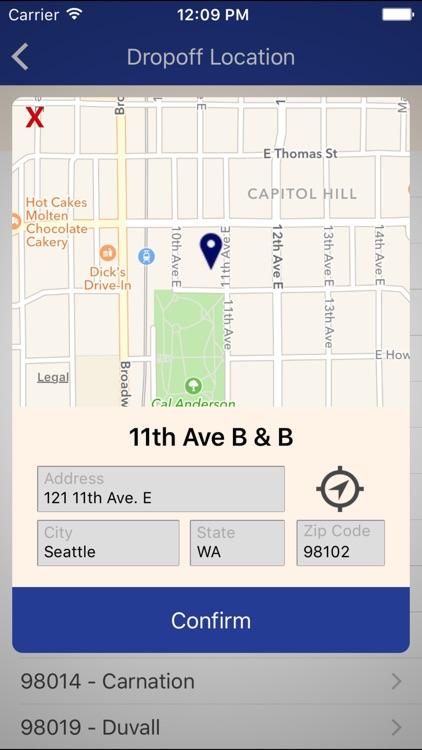 SpeediShuttle Seattle screenshot-3