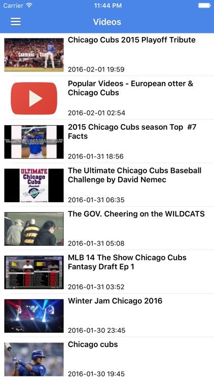 News Surge for Chicago Cubs Baseball Free Edition screenshot-4