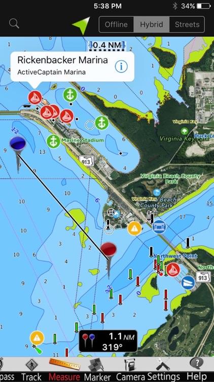 Lake Norman GPS Nautical charts