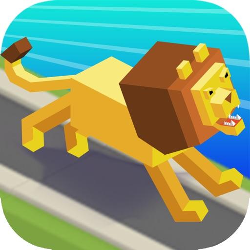 Baixar Road Stampede - Sky Zoo Safari In Smashy City para iOS
