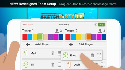 Screenshot #1 pour SketchParty TV
