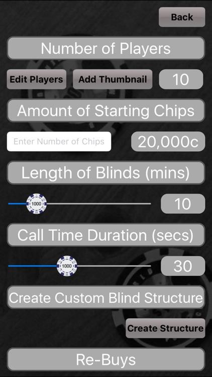 Poker Blinds Timer screenshot-3
