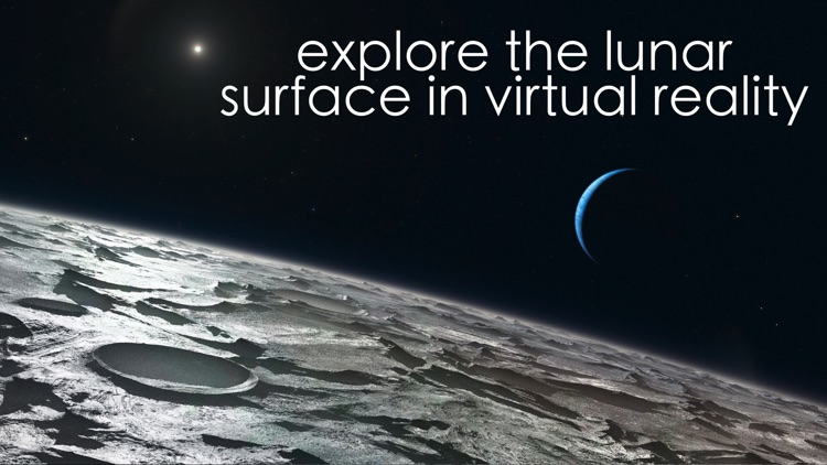 Virtual Reality Moon for Google Cardboard VR