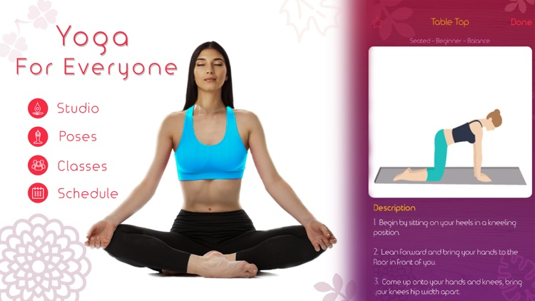 Yoga Asanas - Track Personal Yoga For Beginners screenshot-0