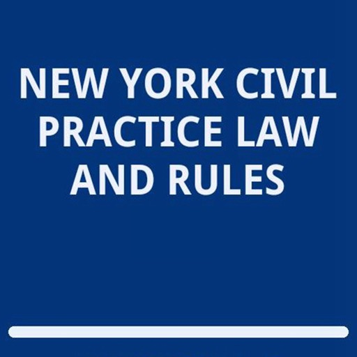 New York Civil Practice Law and Rules - CVP:Handy Reference and Study Tutorial