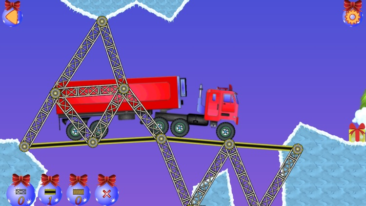 Christmas bridge - Bridge construction simulator