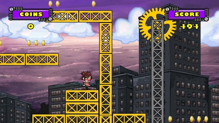 Rooftop Rebel - Free Runner screenshot-3