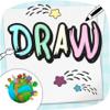 Dibujar pintar y colorear tu dibujo para niños de preescolar
