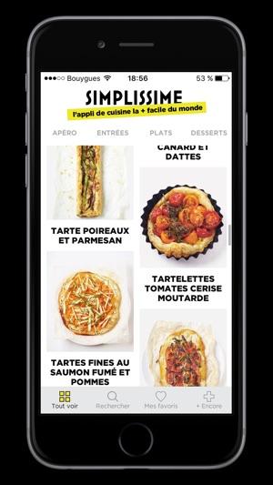 Simplissime Lapp De Cuisine La Facile Du Monde Dans LApp Store - Appli cuisine