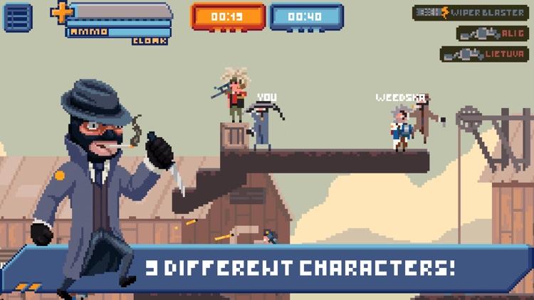 Gangfort - Online 2D Platformer Shooter