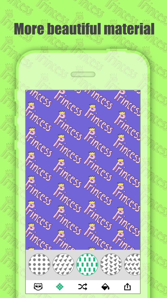 Pattern Maker - Create Cute Background.s & Wallpaper.s Screenshot