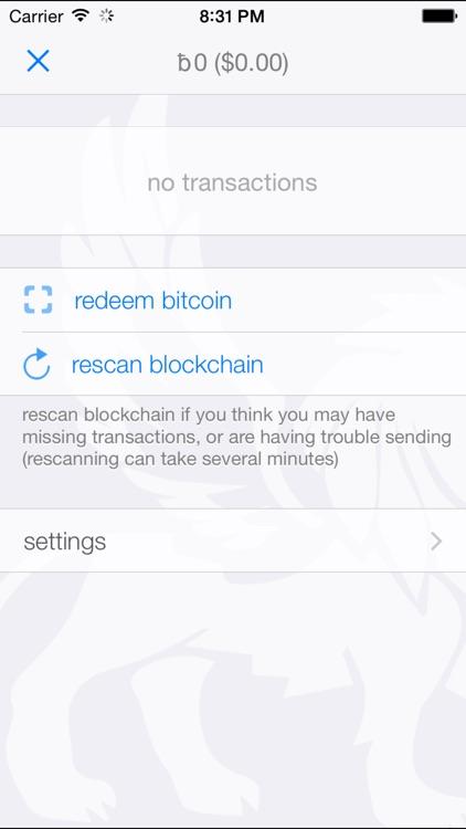 Coins - Bitcoin Wallet screenshot-3