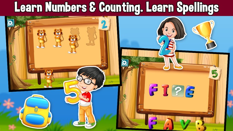 Preschool Maths, Counting & Numbers for Kids screenshot-3