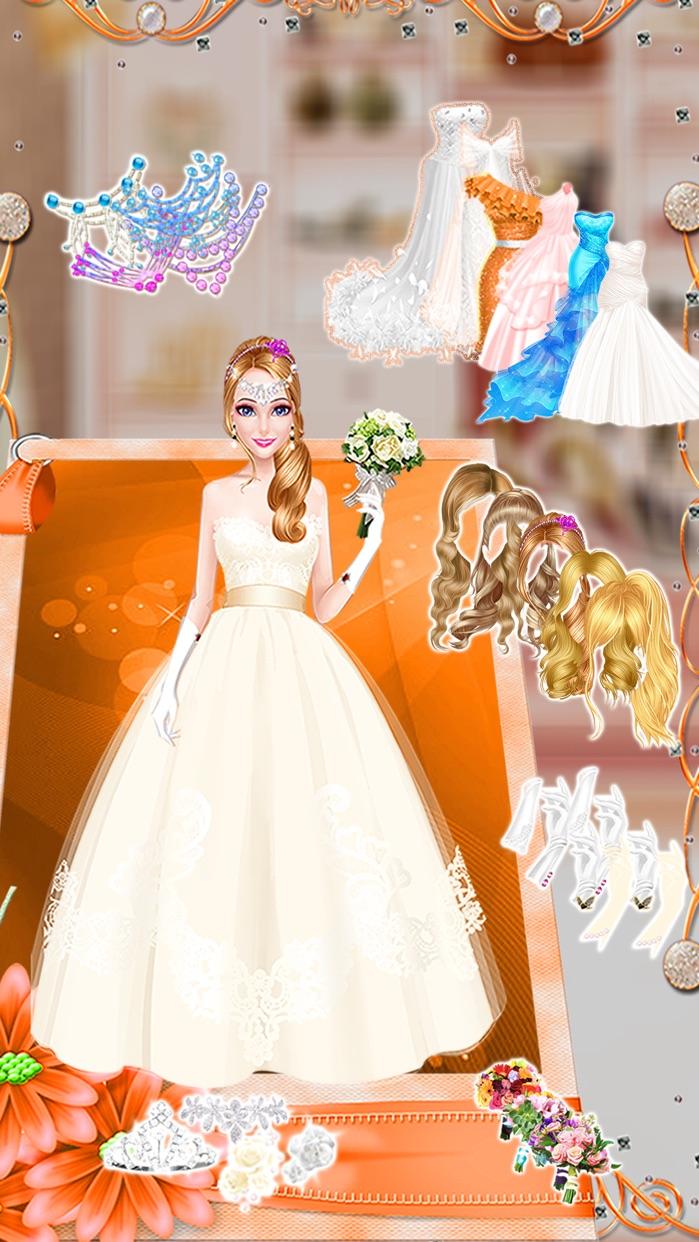 Bridal Princess Wedding Makeover - Girls Dress-up, Make-up and Salon Game  by Phoenix Games Screenshot