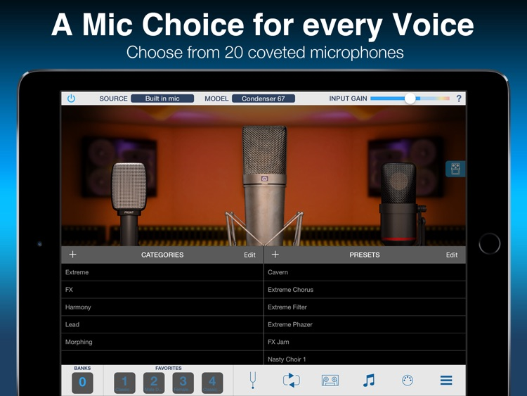 VocaLive for iPad screenshot-0