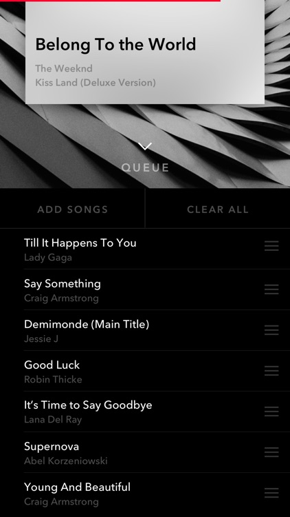 NEXT - turn your music into beautiful artwork