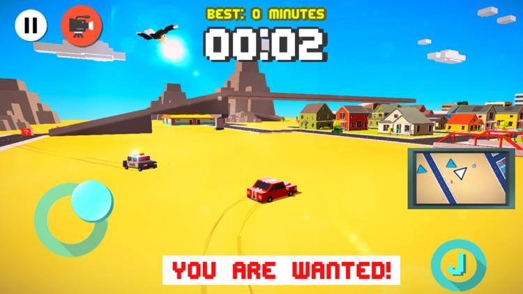 Smashy Dash 3 - PRO Crossy Crashy Cars and Cops - Wanted screenshot-3