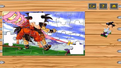 子供と幼稚園のための脳トレ無料 - ドラゴンバトル漫画のジグソーパズルゲームをボックスのおすすめ画像1