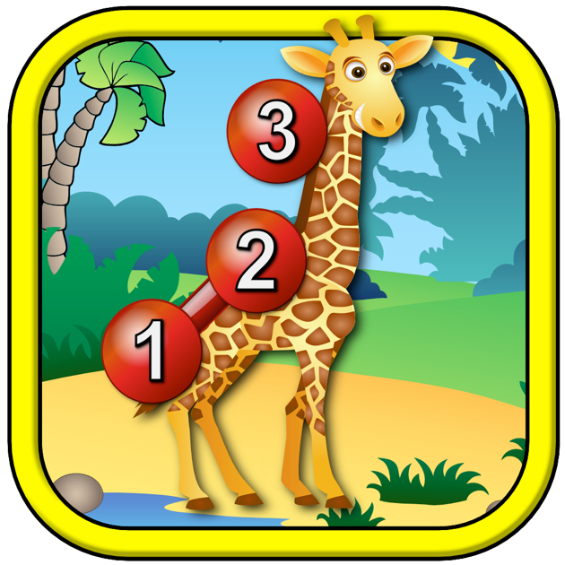 Kids Animal Connect The Dots Puzzles Educational Dot To Dot