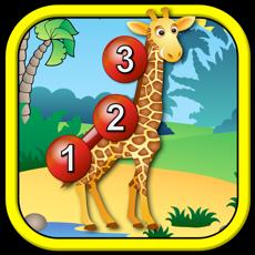 孩子们动物连接点拼图-教育学龄前儿童游戏的点到点算术 for mac
