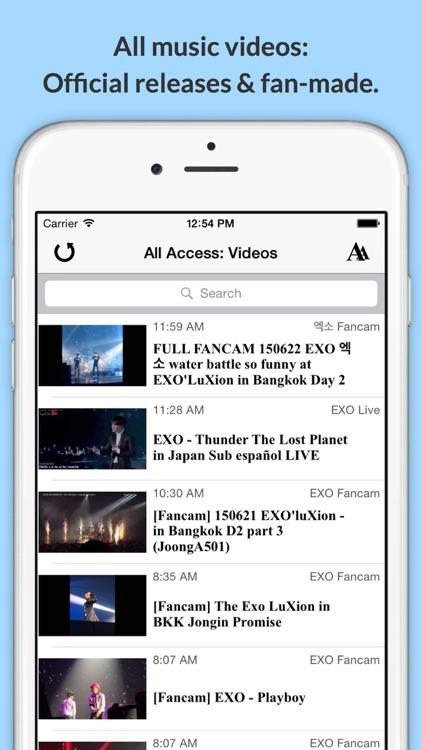 All Access: EXO Edition - Music, Videos, Social, Photos, News & More! by  Valiant Rock, Inc