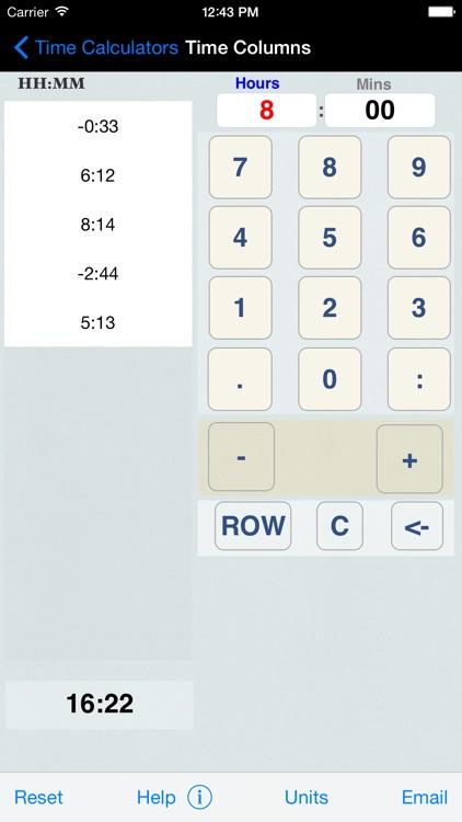 Time Calculator+ screenshot-4