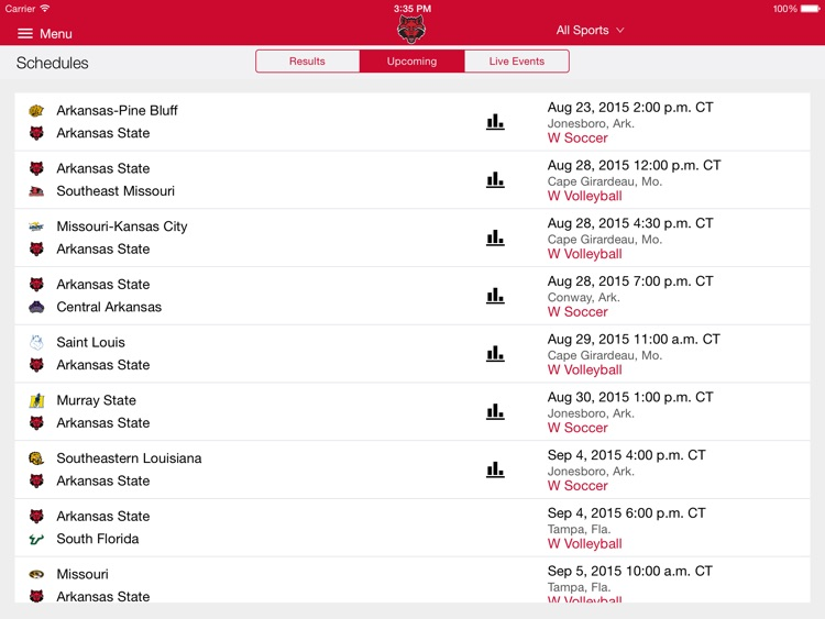 A-State Athletics for iPad screenshot-3