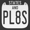States And Plates Free, The License Plate Game