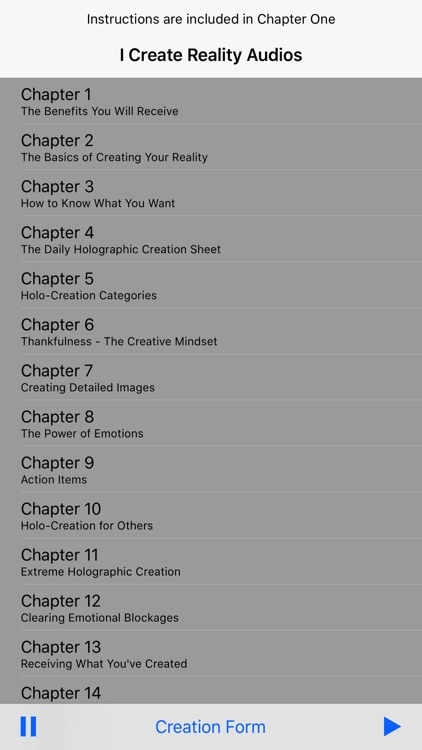 I Create Reality Manifesting - Full Audiobook