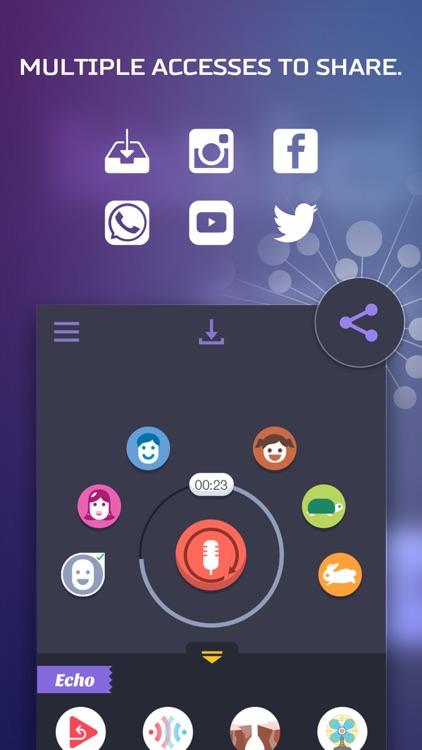 Voice Changer App – Funny SoundBoard Effects screenshot-4