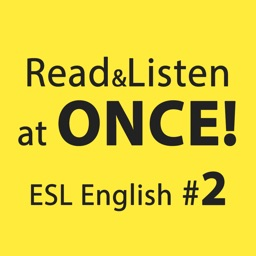 ENGLISH ESL 2 READ AND LISTEN AT ONCE!: SHORT STORIES COLLECTION