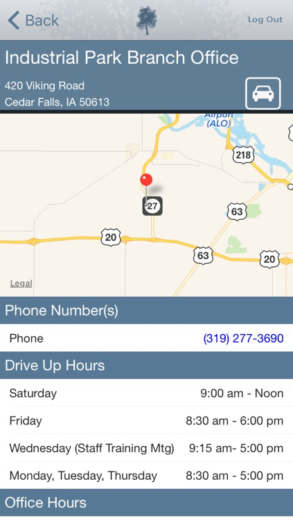 Cedar Falls Community Credit Union Mobile App screenshot-4
