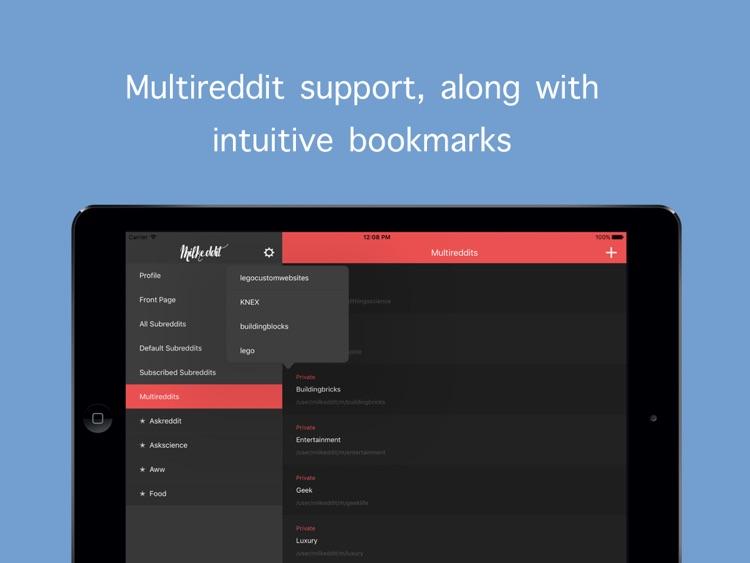 Milkeddit for iPad screenshot-3