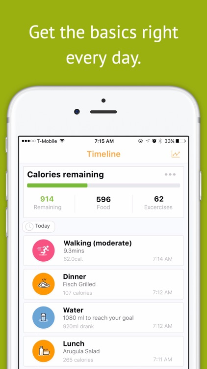 Magra - Calorie Counter, Pedometer and Social Fitness Community