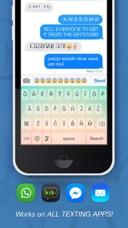 Symbolizer Fonts Keyboard with Fancy Emoji Symbols for
