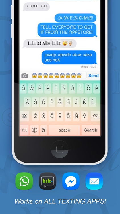 Symbolizer Fonts Keyboard with Fancy Emoji Symbols for Facebook and Instagram screenshot-2