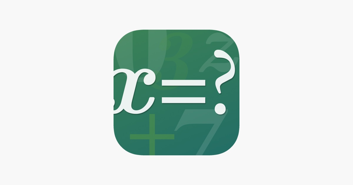 FX Algebra Solver on the App Store