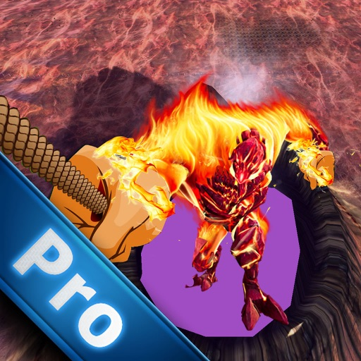 A Flames Rope Hero PRO - Amazing Game Rope