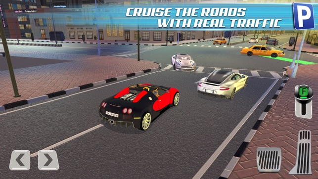 3d dubai parking simulator gratuit jeux de voiture de course dans l app store. Black Bedroom Furniture Sets. Home Design Ideas