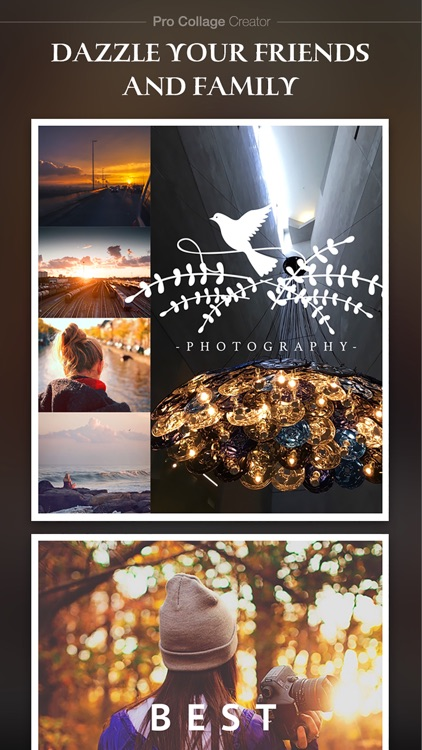 Pro Collage Creator Max - Photo Collage Editor & Layout & beauty Camera & sticker screenshot-4