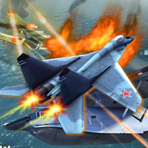 Aircraft Combat Race Reloaded - Flaying Supe War Jet