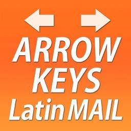 Arrow Keys Latin Mail Keyboard