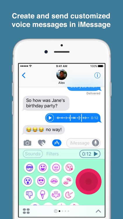 Chatterbird – Custom Voice Messages for iMessage screenshot-0