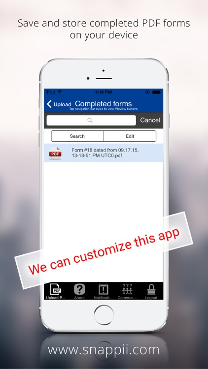 Government PDF Form Collection App screenshot-3