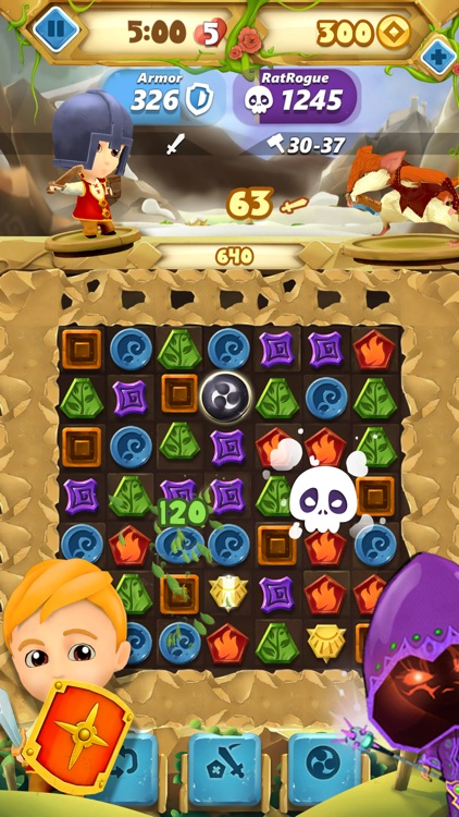 Fantasy Journey Match 3 Game: Jewels Matching Saga screenshot-3
